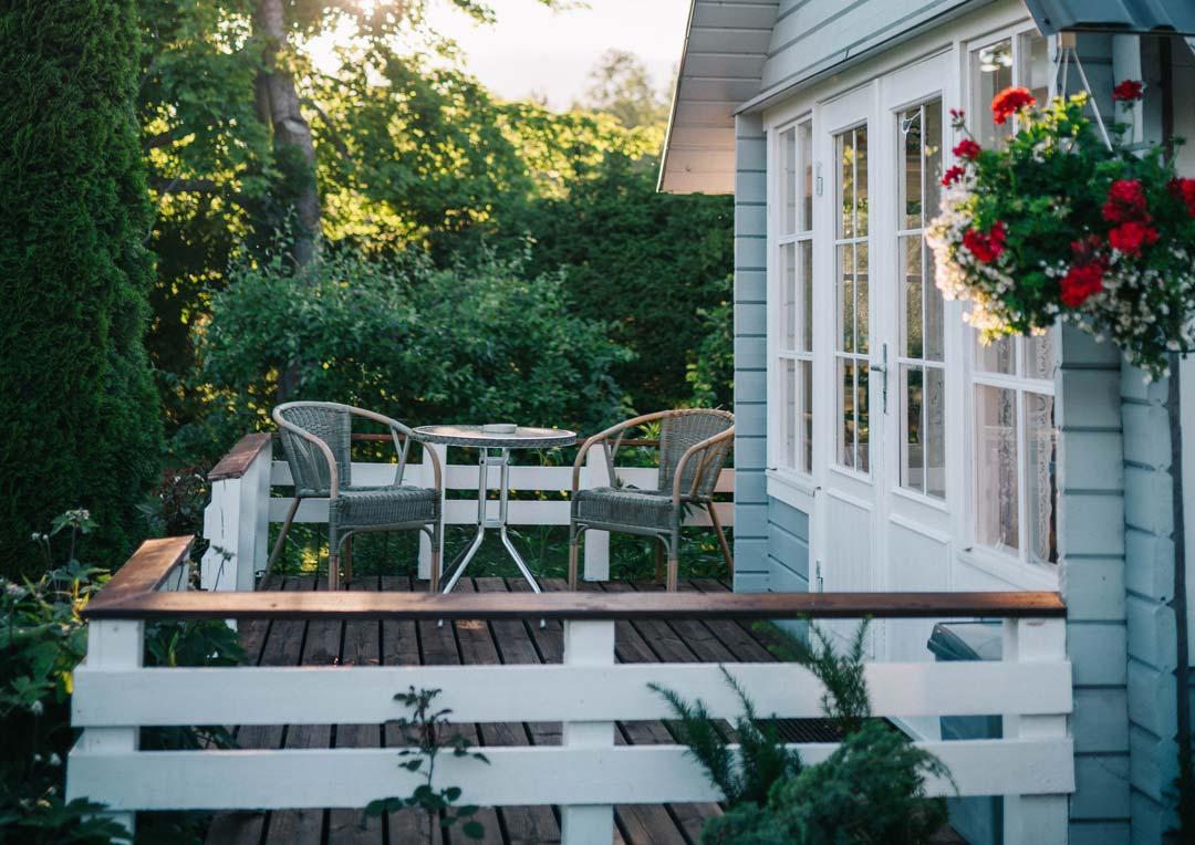 San Antonio home patio with insurance