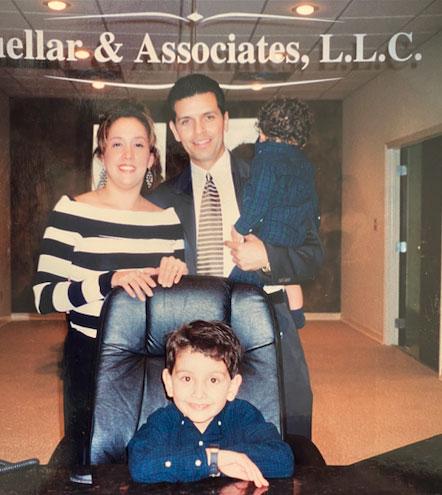 family smiling. about-cuellar-associates-san-antonio